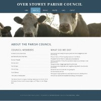 Over Stowey Parish Council Screen